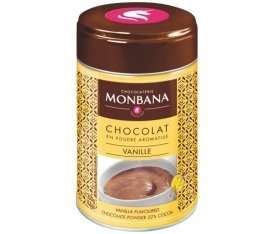 Chocolat en poudre aromatis� Vanille 250 g Monbana