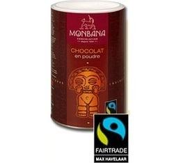 Chocolat en poudre Max Havelaar - 1 Kg - Monbana