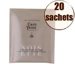 Display chocolat en poudre instantan� noisettes x20 - Caf�-Tasse