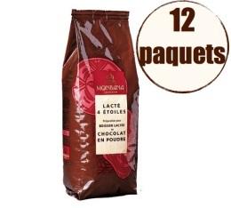 MaxiLot Boisson lactée 4 étoiles- chocolat Monbana - 12 x 1 Kg