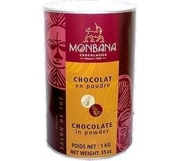 Chocolat  en poudre Monbana Salon de Thé -  1 kg