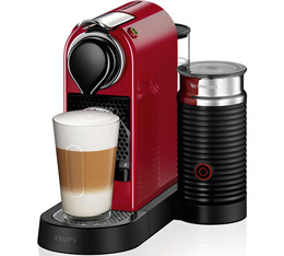 Machine Nespresso Citiz Milk Rouge - Krups - Bonne Affaire !