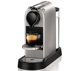 Nespresso Citiz Argent - Krups + Offre Cadeau