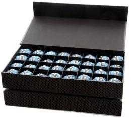 Coffret 64 bonbons de thé à infuser Puerh Noir Yemaya