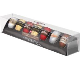 Coffret d�couverte : 7 chocolats noirs � la liqueur (5 saveurs) - Monbana