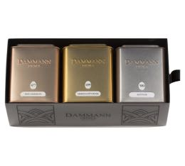 Coffret th� Dammann 'Tr�sor' - 3 x 100g