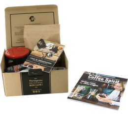 Découvrez votre café préféré - Coffret Découverte café moulu (4x250g)