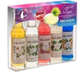 Coffret D�couverte Cocktails - 5 mignonettes de sirop - Monin