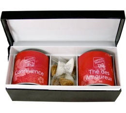 Coffret th� Love box - Comptoir Fran�ais du th�