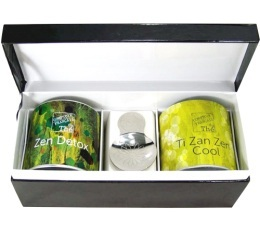 Coffret th� - Zen box - Comptoir Fran�ais du th�