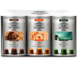 Coffret Corsini : 30 capsules pour Nespresso Pure-Origine - 3x10