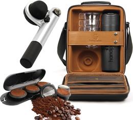 Coffret complet Handpresso wild hybrid gris + etui porte doses