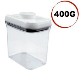 Boite à café avec vide d'air POP Oxo - 400g/1.5L en plastique transparent