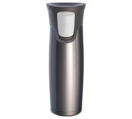 Tumbler Contigo Astor gris en acier Inoxydable - 47 cl