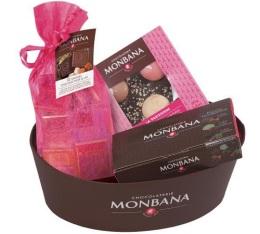 Corbeille chocolats D�couverte - Monbana