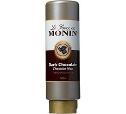 Topping  Coulis Chocolat noir Monin x 500 ml
