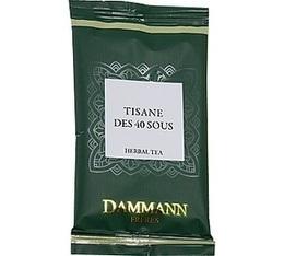 24 sachets Tisane des 40 sous Herboristerie d'Orgeval Dammann