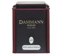 Boite Dammann N�445 - Oolong caramel beurre sal� - 100gr