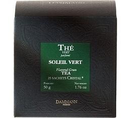 Th� Vert Soleil Vert Dammann x 25 sachets Cristal