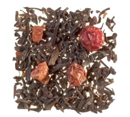 Th� noir en vrac Quatre fruits rouges - 100gr - Dammann