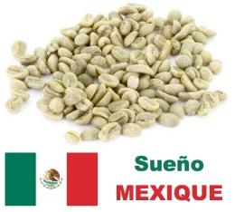 Café vert - Décaféiné à l\'eau - Sueño - Région Altura - Mexique - 1kg