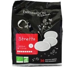Caf� dosettes souples Stretto bio n�11 x 36