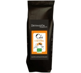 Caf� aromatis� Caramel 100% arabica et 100% bio - 125g