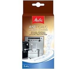 D�tartrant Melitta Anti Calc (2 x 40g) pour machines � caf� automatique