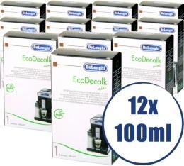 Lot de 12 D�tartrants Delonghi EcoDecalk pour machine expresso - 12 x 100 ml