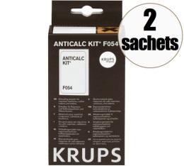 Détartrant Krups pour machines Krups (2 sachets détartrants + 1 bâtonnet testeur)