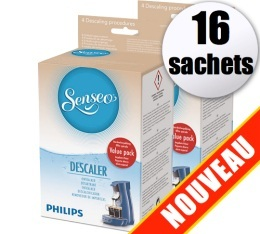 D�tartrant Senseo HD7012 (Produit officiel) - 16 sachets de d�tartrage