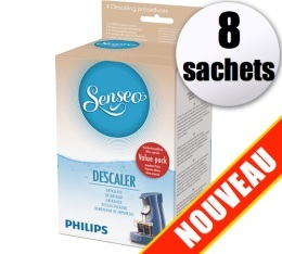 D�tartrant Senseo HD7012 (Produit officiel) - 8 sachets de d�tartrage