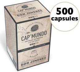 Capsules Don Jimenez x500 CapMundo pour Nespresso