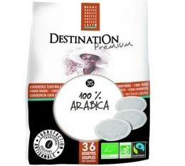 Café dosettes souples Bio Equitable Pur Arabica x 36