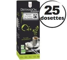 Dosettes Café expresso Mexique x 25 dosettes ESE