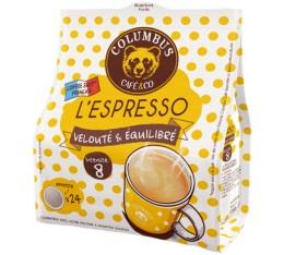 Dosettes souples Espresso x24 - Columbus Caf� & Co