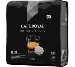 Dosettes souples Caf� Royal Ristretto x36