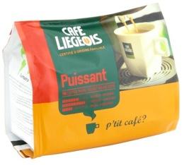 Café dosettes souples Puissant x18 - Café Liegeois