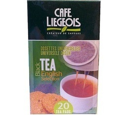 Th� dosettes souples English Selection  x20 - Caf� Liegeois