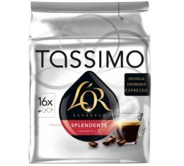 Dosette Tassimo L'Or Espresso Splendente - 16 T-Discs