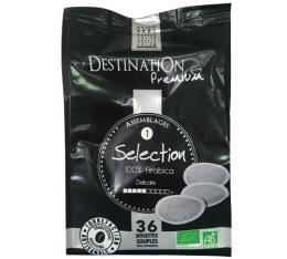 Caf� dosettes souples S�lection n�1 100% Arabica bio x 36