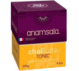 Coffret de 10 doses Pr�paration Cha� Latte Tonic Citron - Monbana