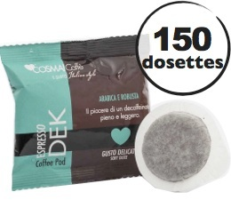 Dosette caf� Dek d�caf�in� Sp�cial Bar - x150 - Cosmai Caff�