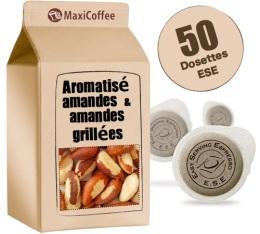 Dosette caf� aromatis� amande x 50 dosettes ESE