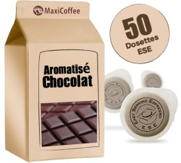 Dosette caf� aromatis�  chocolat x 50 dosettes ESE