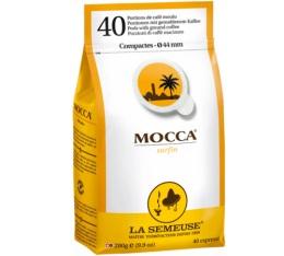 Caf� Expresso en dosette ESE : La Semeuse - Mocca - Sachet de 40