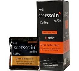 Dosettes caf� Spressoin Gran Seleccion Vendin  x25 dosettes ESE