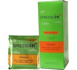 Dosettes café Spressoin Intenso Vendin  x25 dosettes ESE