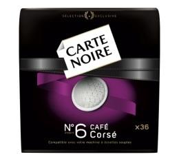 Dosettes souples n�6 Cors� x 36 - Carte Noire
