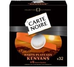 Dosettes souples Hauts Plateaux Kenyans x32 - Carte Noire